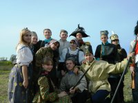 Реконструкция Бородинского  сражения