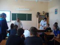 Профориентационная работа в школах Вешкаймского района