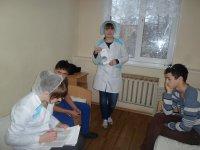 Профилактическая работа со здоровыми людьми в детском отделении.