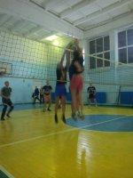 Первенство района по волейболу.