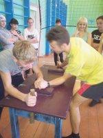 Соревнования допризывной молодёжи, посвящённые Дню здоровья.
