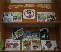Выставка в библиотеке.