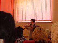Выступление на конференции.
