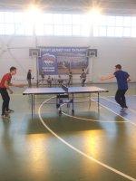 Районные соревнования по настольному теннису