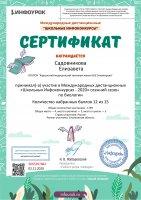 Международный дистанционный «Школьный Инфоконкурс – 2020»